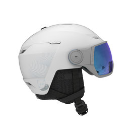Salomon Icon LT Visor Helm White
