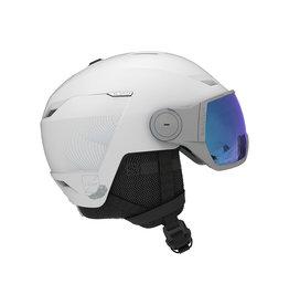 Salomon Icon LT Visor Helmet White