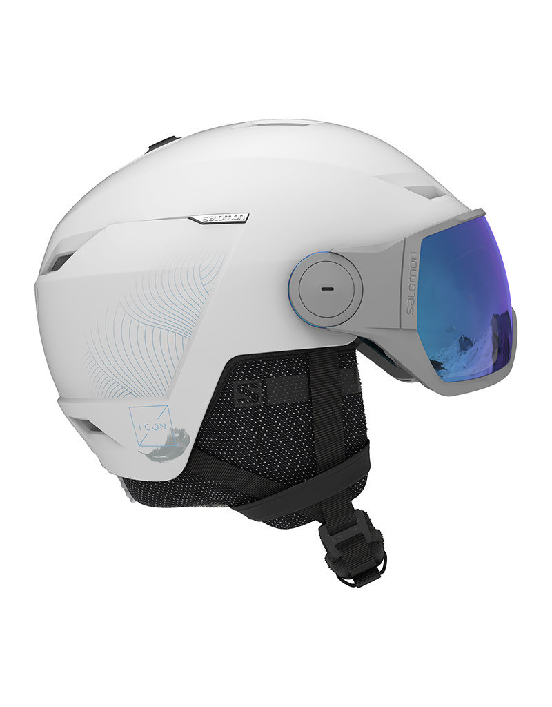 Salomon Icon LT Visor Helmet White