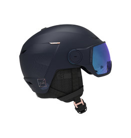 Salomon Icon LT Visor Helm Wisteria Navy