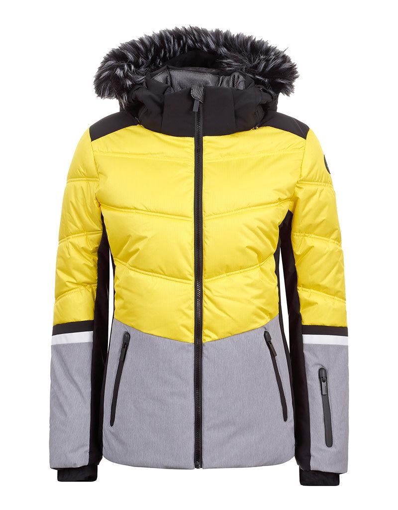 Icepeak Electra Ski Jas Yellow