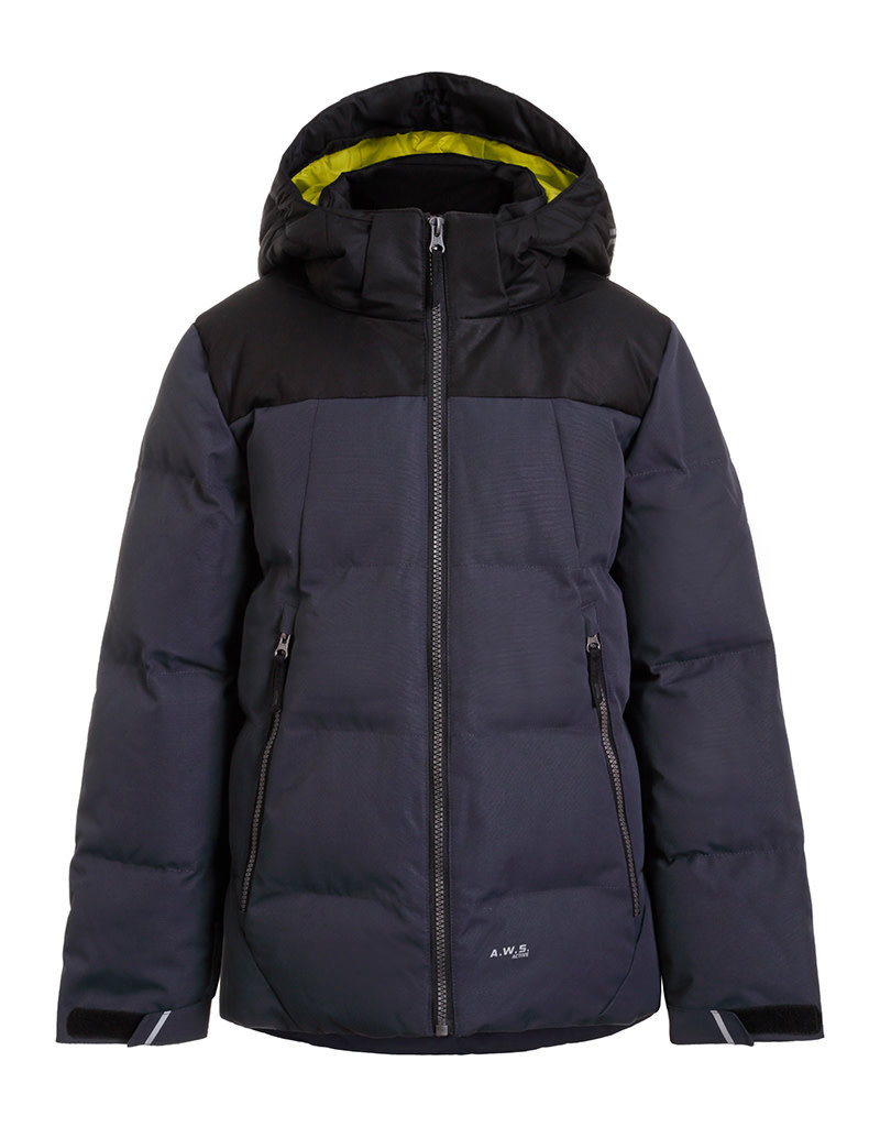 Icepeak Kane Junior Ski Jacket Anthracite