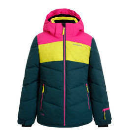Icepeak Lages Junior Ski Jas Antique Green