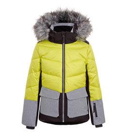 Icepeak Lillie Junior Ski Jacket Aloe