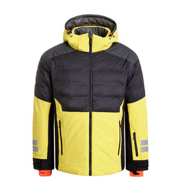 Icepeak Euless Heren Ski Jas Yellow