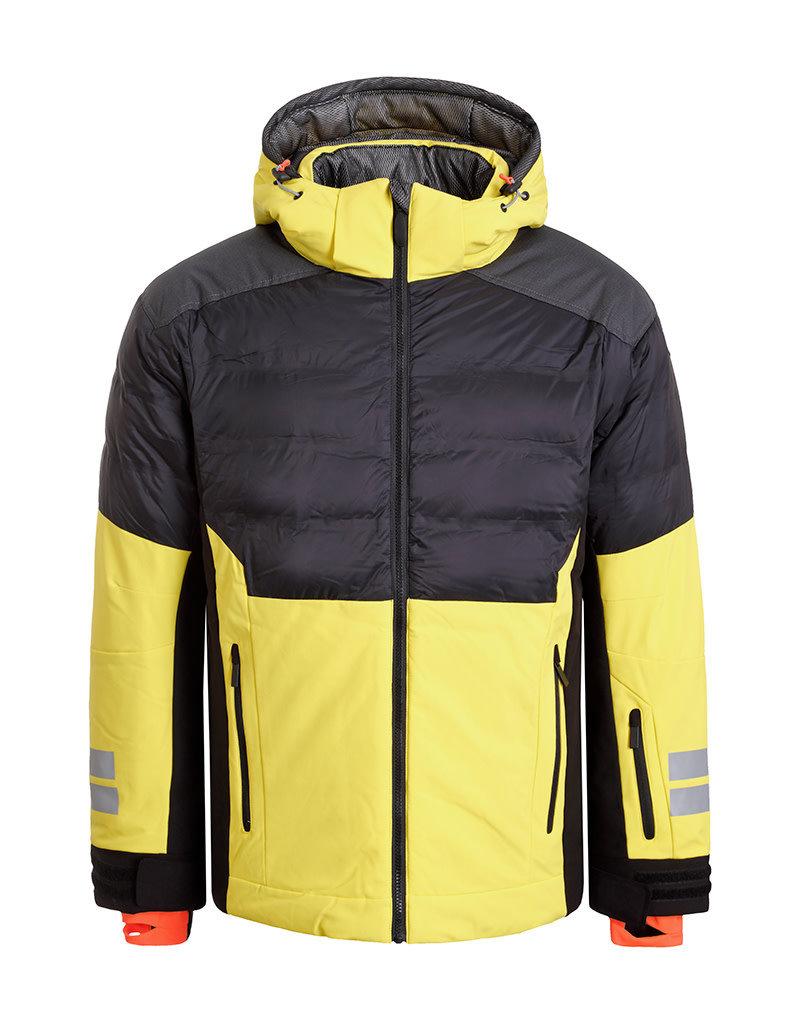 Icepeak Men's Euless Ski Jacket Yellow