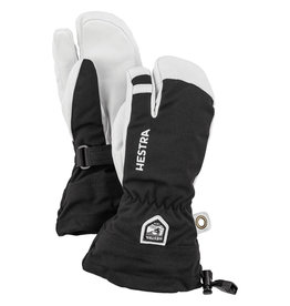 Hestra Army Leather Heli Ski Jr 3 finger Gloves Black