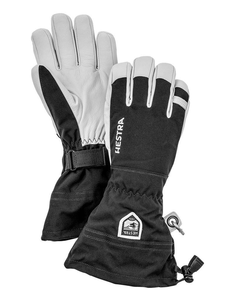 Hestra Army Leather Heli Ski Handschoenen Black