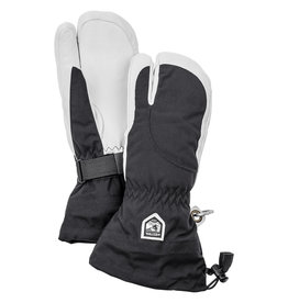 Hestra Heli Ski Female 3-Finger Gloves Black/White