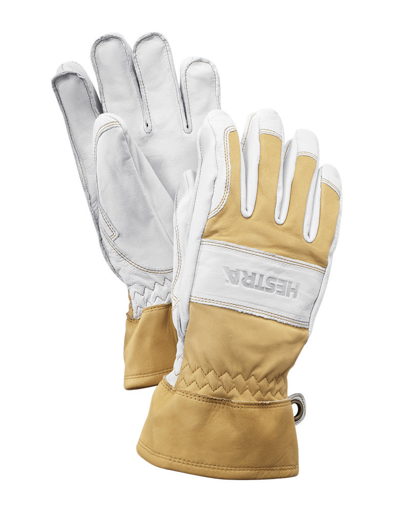 Hestra Fält Guide Glove 5-f Natural Yellow/Offwhite