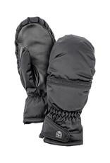 Hestra Primaloft Leather Dames Wanten Zwart