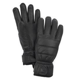Hestra Alpine Leather Primaloft 5-f Black