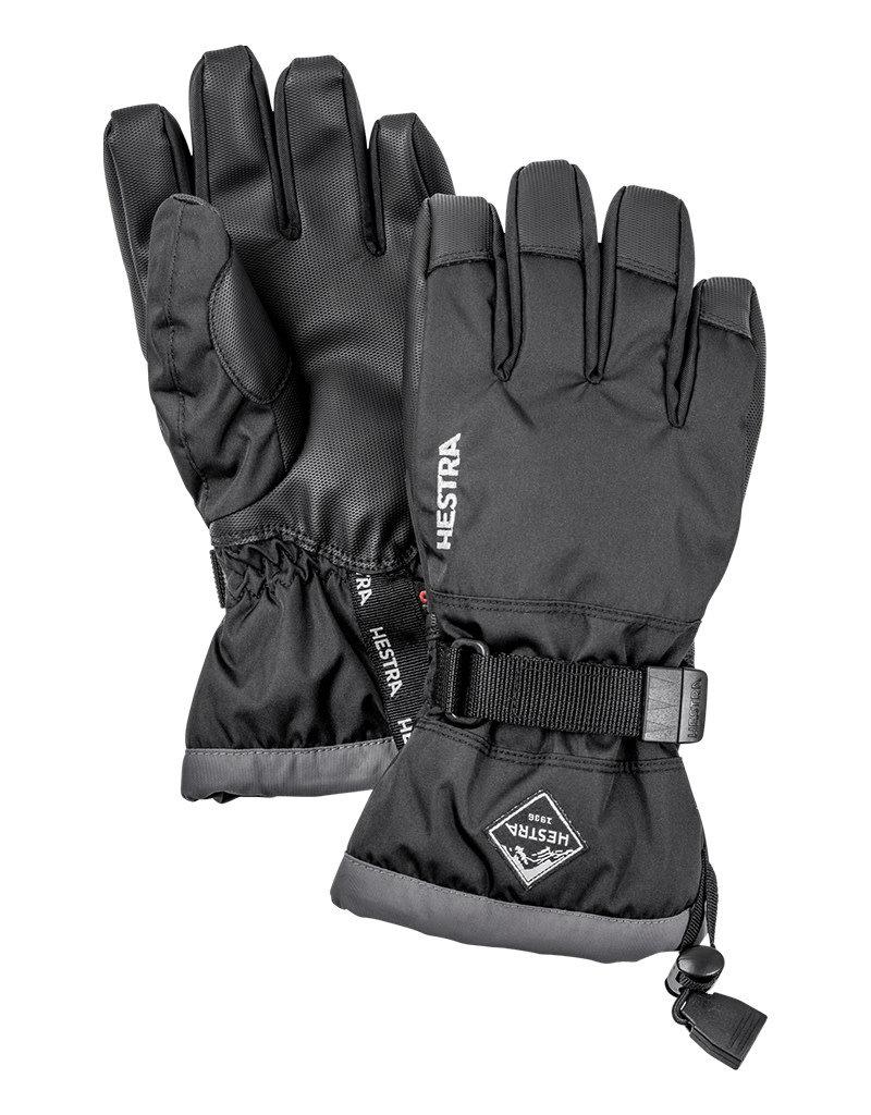 Hestra Gauntlet CZone Jr 5-f Black/Graphite