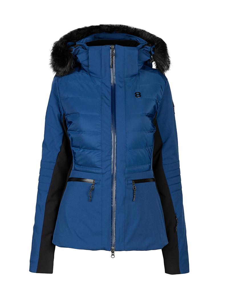 8848 Altitude Women's Cristal Ski Jacket Peony