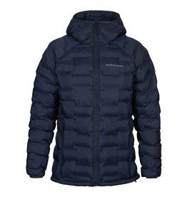 Peak Performance Men's Argon Hooded Jacket Blue Shadow
