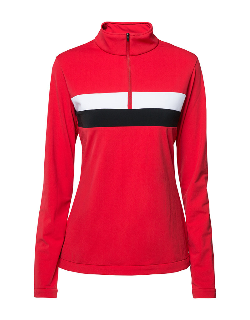 8848 Altitude Dames Pully Lexie Sweat Red