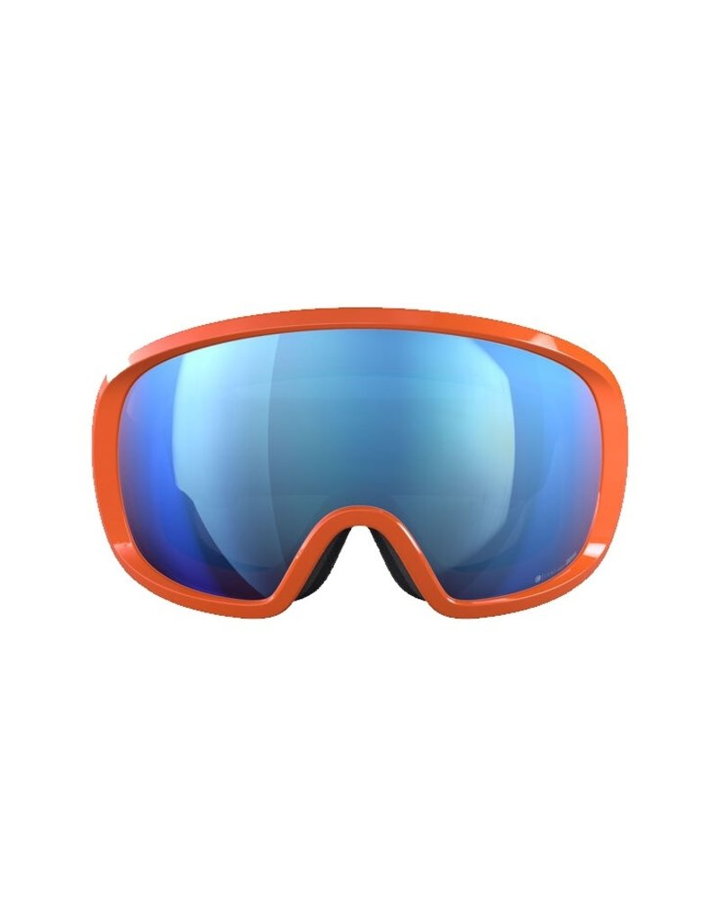 POC Fovea Clarity Comp+ Skibril Fluorescent Orange
