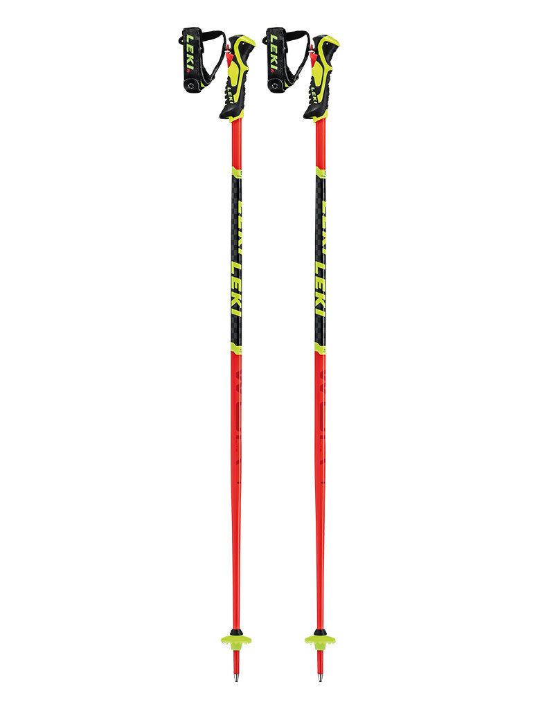 Leki WCR Lite SL 3D Fluorescent-Red/Black/Neon-Yellow