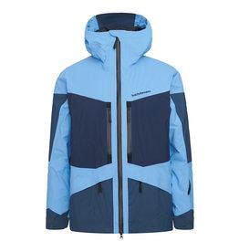 Peak Performance Men's Gravity 2L Ski Jacket Blue Elevation