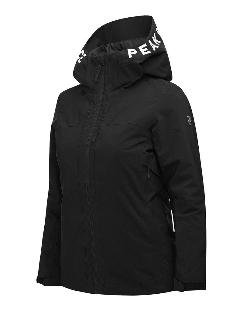 Peak Performance Rider Dames Ski Jas Black