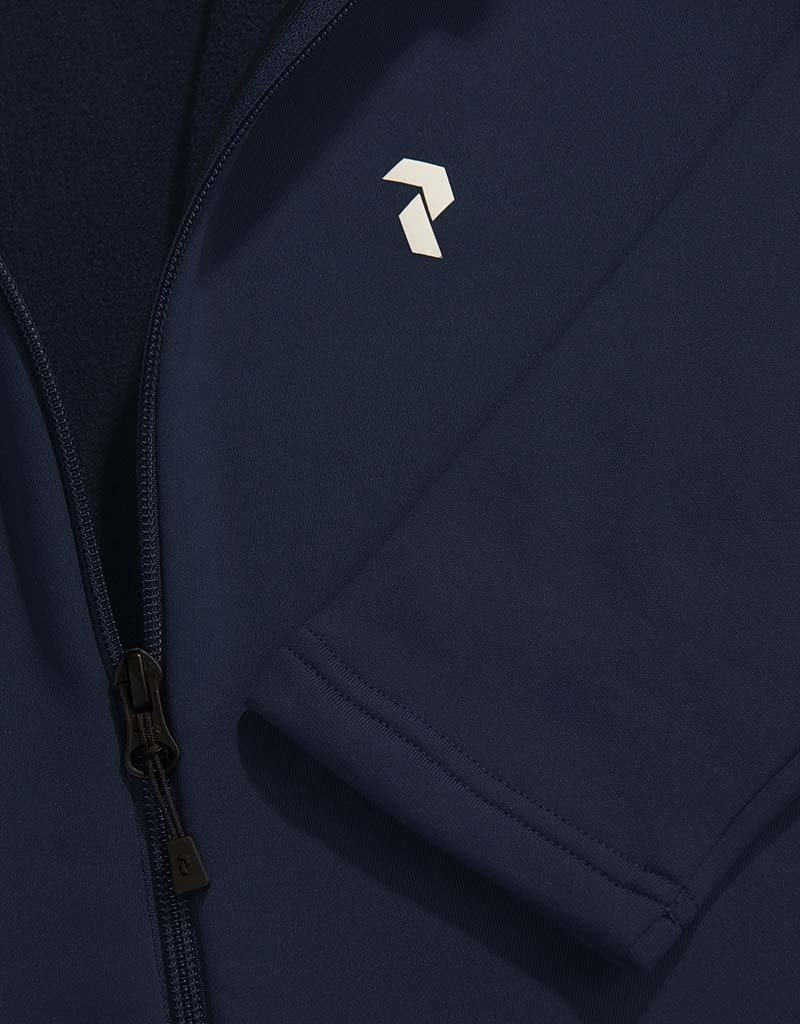 Peak Performance Men's Rider Zip Jacket Blue Shadow