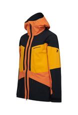 Peak Performance Men's Gravity Ski Jacket Orange Altitude
