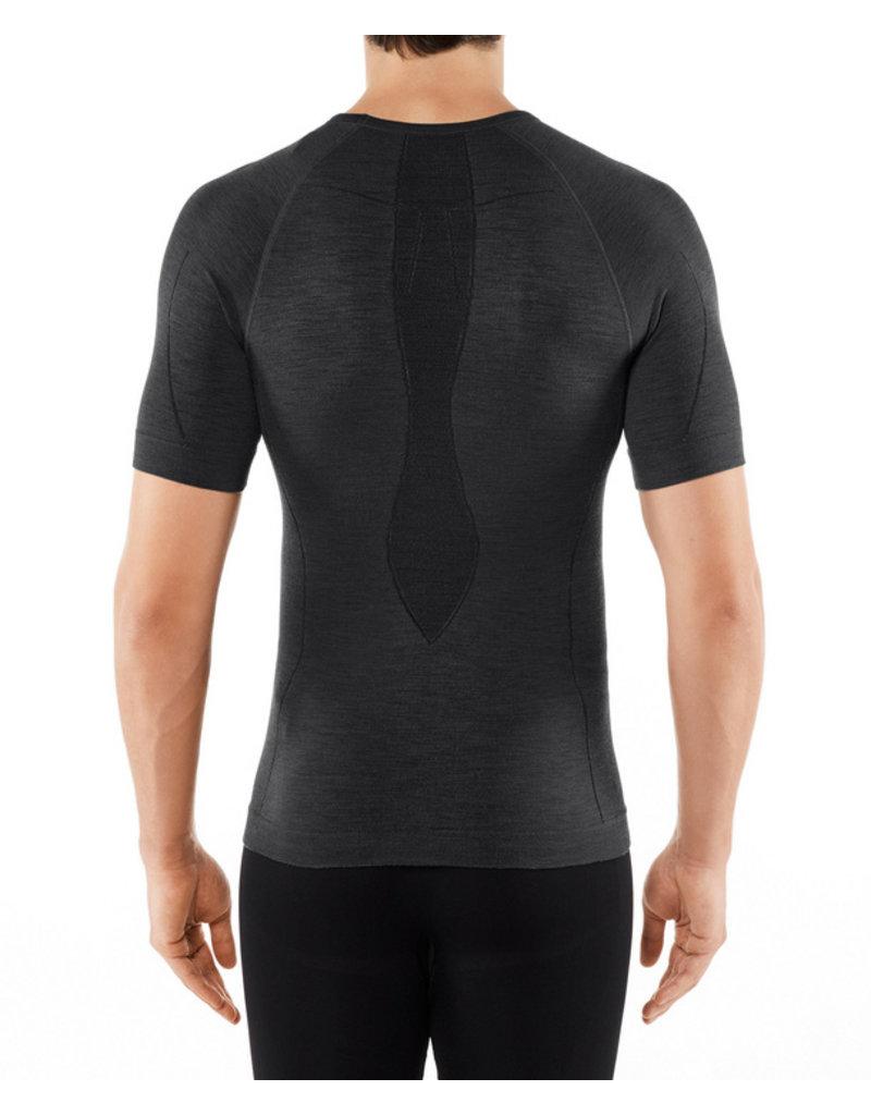 Falke Wool Tech Short Sleeved Shirt Regular M Black