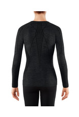 Falke Wool Tech Long Sleeved Shirt Regular W Black