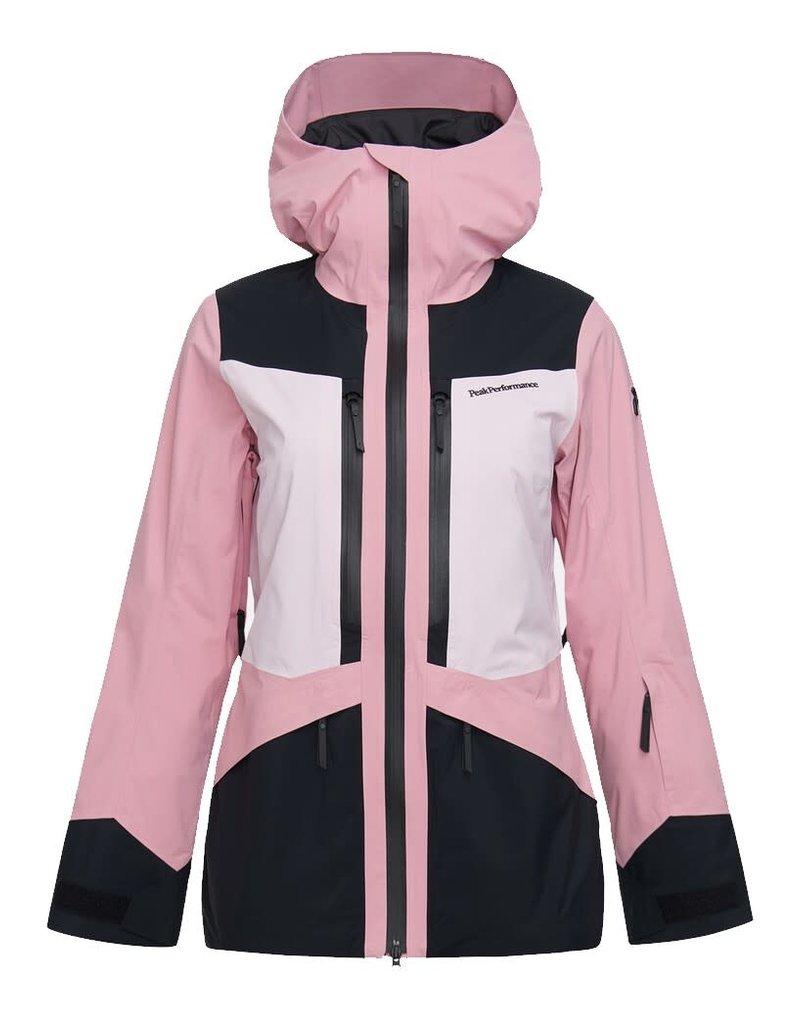 Peak Performance Women's Gravity 2L Ski Jacket Cold Blush