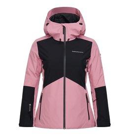 Peak Performance Women's Anima GTX  Ski Jacket Frosty Rose