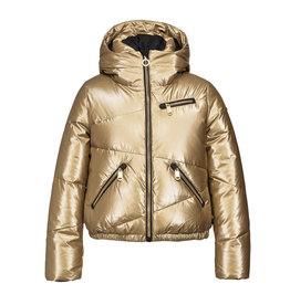 Goldbergh Women's Balloon Ski Jacket Gold