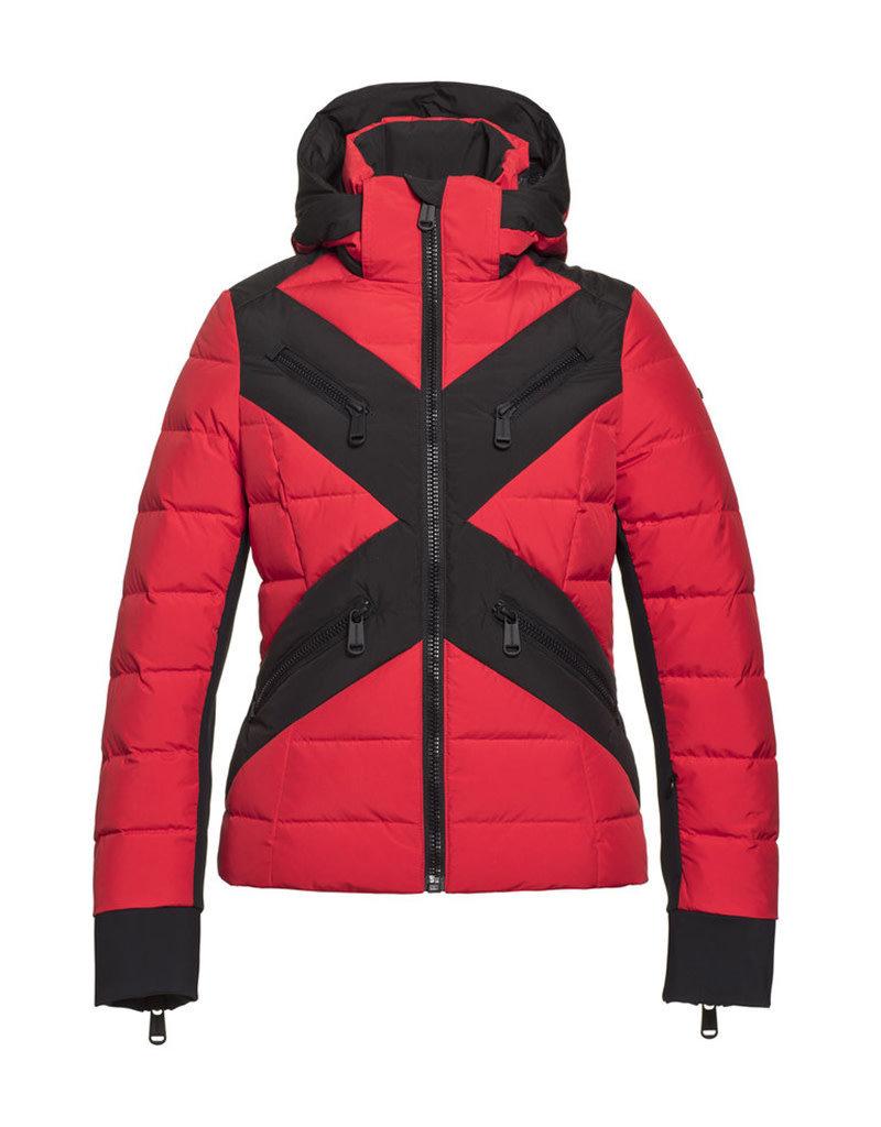 Goldbergh Women's Cross Ski Jacket Ruby Red