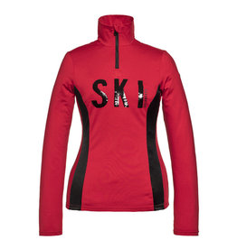 Goldbergh Hila Dames Ski Pully Ruby Red
