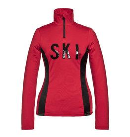 Goldbergh Women's Hila Ski Pully Ruby Red