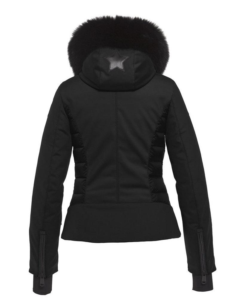Goldbergh Kaja Dames Ski Jas Faux Fur Black
