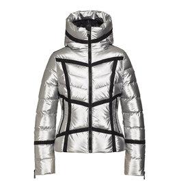 Goldbergh Women's Mirror Ski Jacket Silver