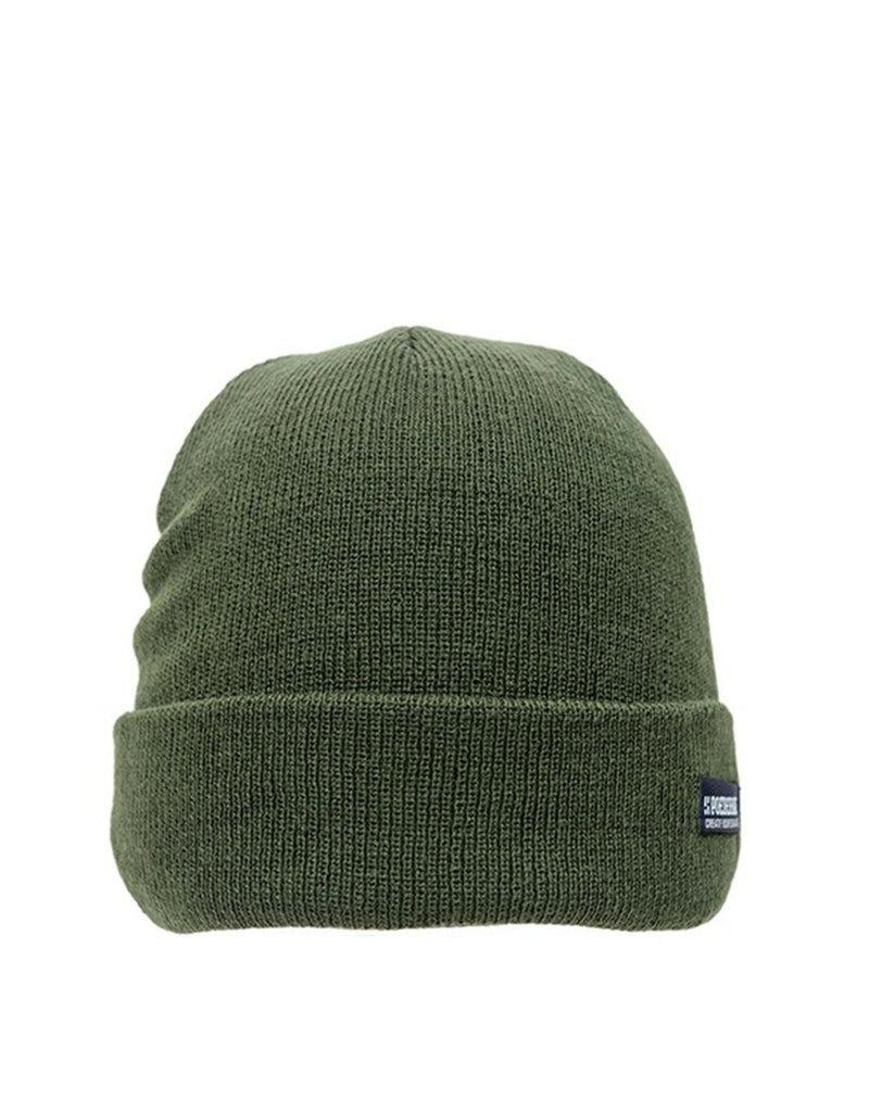 Poederbaas Basic Beanie Khaki Green