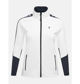 Peak Performance Women's Rider Zip Jacket Off-White