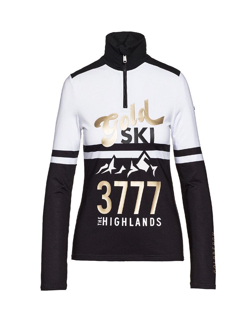 Goldbergh Highlands Ski Pully Black White