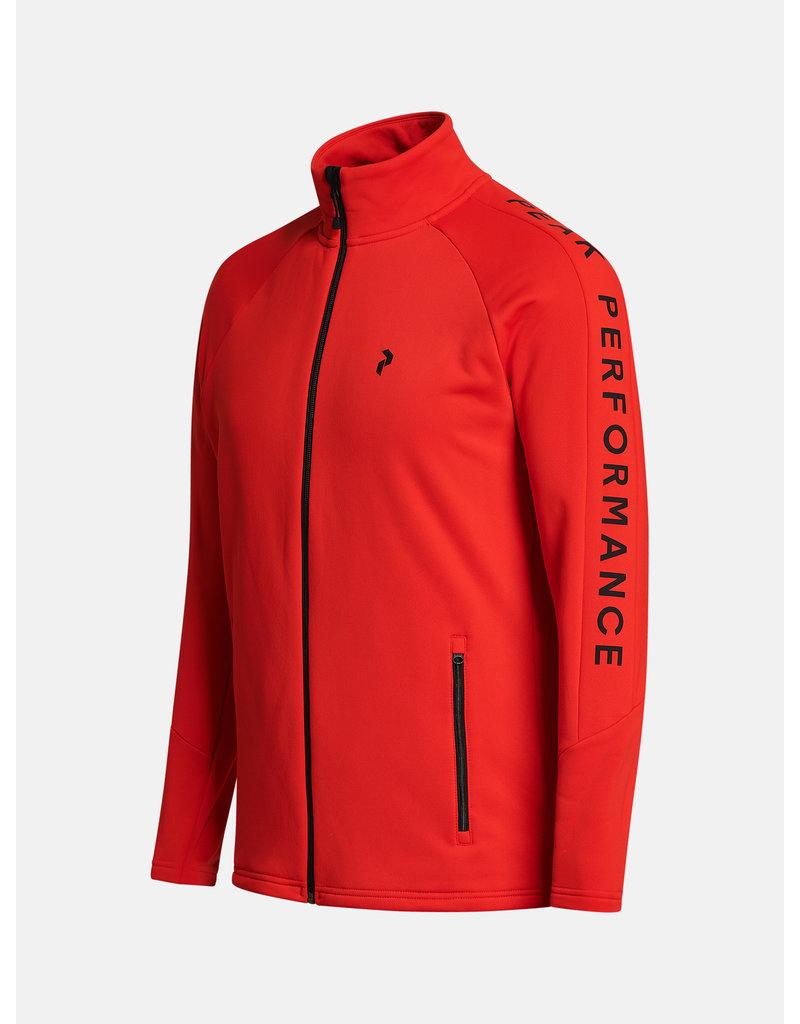 Peak Performance Rider Zip Jacket Racing Red