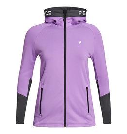 Peak Performance Women Rider Hood Action Lilac Motion Grey