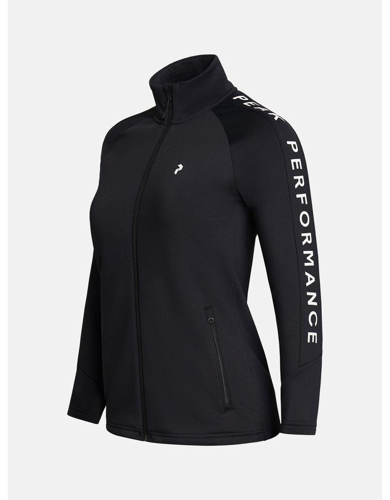 Peak Performance Rider Dames Zip Jacket Zwart