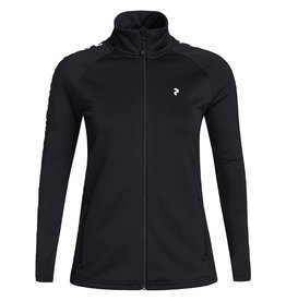 Peak Performance Rider Women Zip Jacket Black