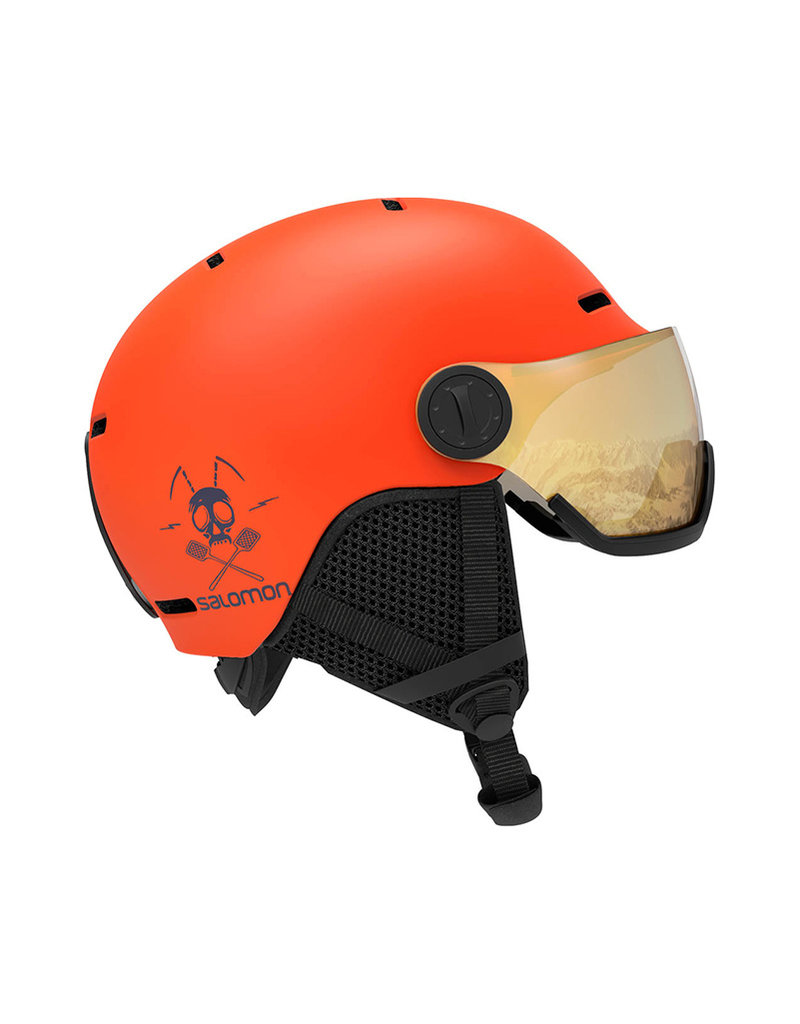 Salomon Grom Visor Flame Orange