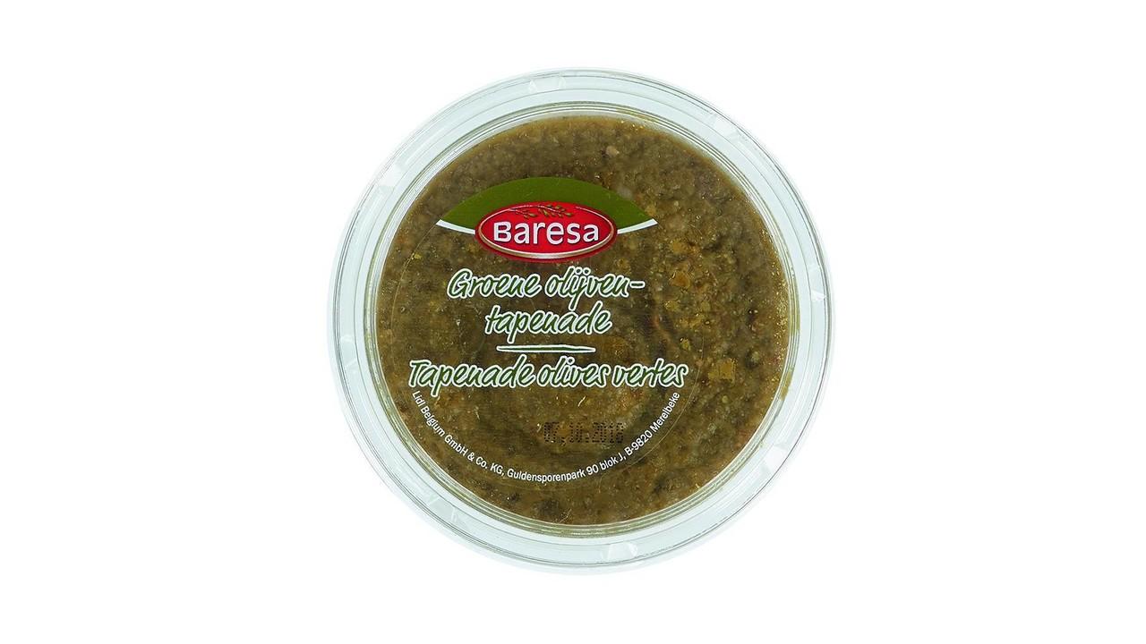 BARESA Tapenade van groene olijven