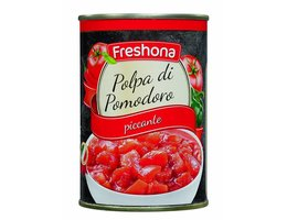 FRESHONA Tomatenblokjes arrabiata