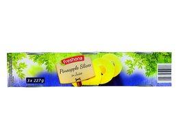 FRESHONA Ananasschijven