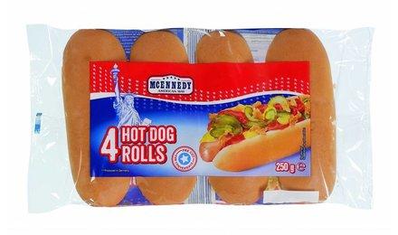 MCENNEDY Hotdogbroodjes