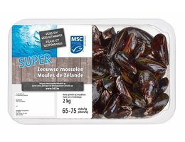 OCEAN SEA MSC Supermosselen 2 kg