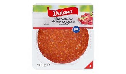 DULANO Salami met paprika, gerookt